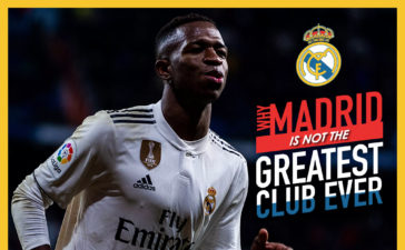 Why Real Madrid isn't the greatest club ever